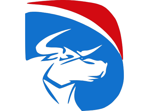 Licensed Air Force Veteran Emblem w// V Cap Royal Blue 461-RBL