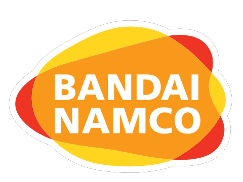 "2x Bandai decal Stickers 2/"" classic anime namco"